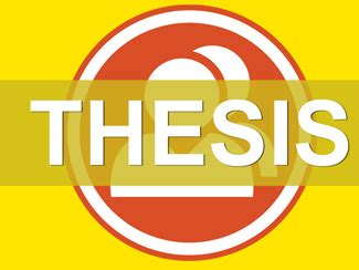 Help on making a thesis statement